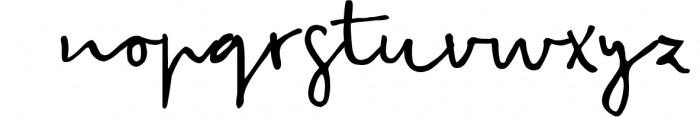 Snowy Christmas script font & logos Font LOWERCASE