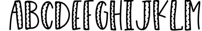 Snug Sweater - A Mixed Style Font Duo 1 Font LOWERCASE