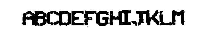 SNCBishop Font UPPERCASE