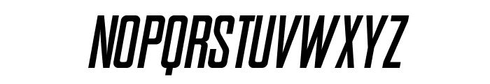 SNES Italic Font UPPERCASE