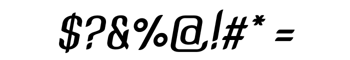 SNT Anouvong Bold Italic Font OTHER CHARS