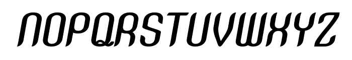SNT Anouvong Bold Italic Font UPPERCASE