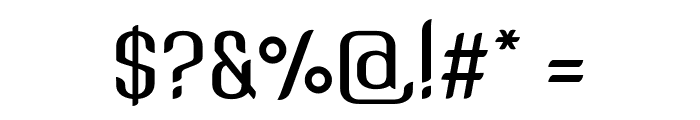 SNT Anouvong Medium Font OTHER CHARS