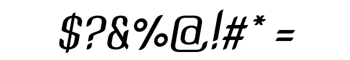 SNTAnouvong-MediumItalic Font OTHER CHARS