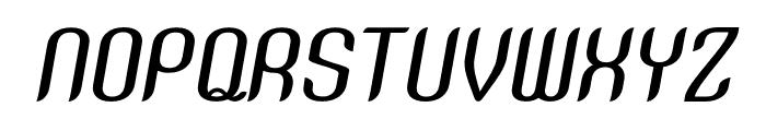 SNTAnouvong-MediumItalic Font UPPERCASE