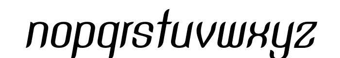 SNTAnouvong-MediumItalic Font LOWERCASE