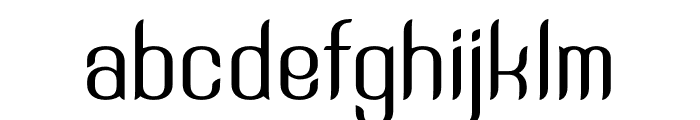 SNTAnouvong Font LOWERCASE