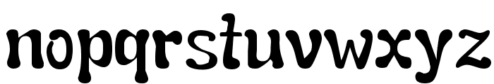 Snail  n  Ink Font LOWERCASE