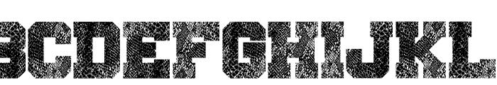 Snake Jacket Font UPPERCASE