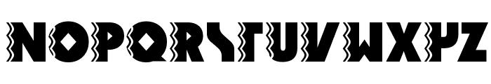 Snake Venom Font UPPERCASE