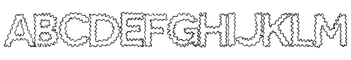 SnakeBite Font UPPERCASE