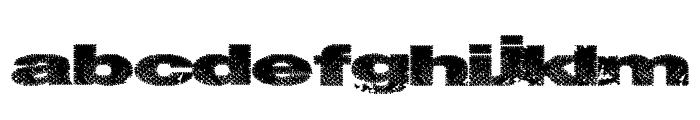 SnakeStitch Font LOWERCASE