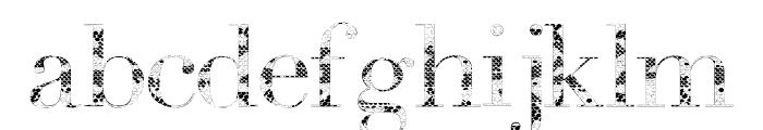 Snake Font LOWERCASE