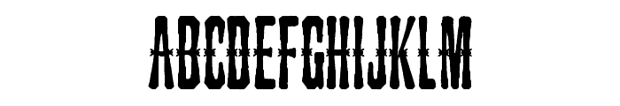 Snakebite Saloon Font UPPERCASE