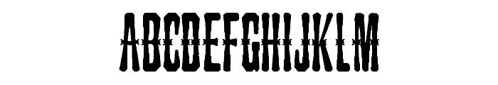 Snakebite Saloon Font LOWERCASE