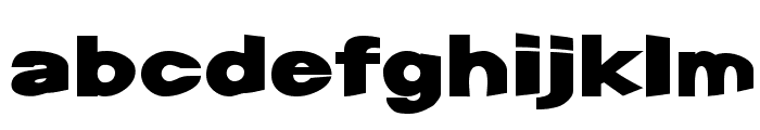 Snap Font LOWERCASE