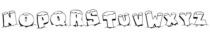 Snaps Taste Christmas Font UPPERCASE