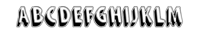 Snarky's Machine Font UPPERCASE