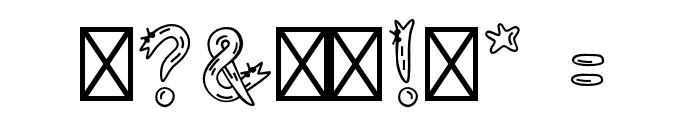 Snek Font OTHER CHARS