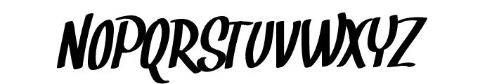 Snickles Font UPPERCASE