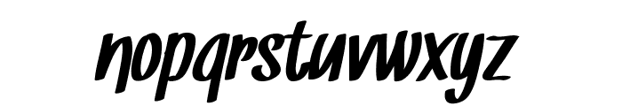 Snickles Font LOWERCASE