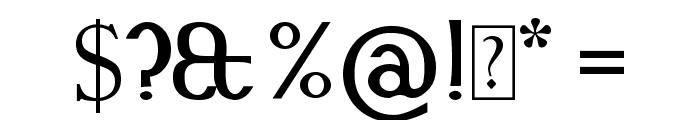 Snidane Font OTHER CHARS