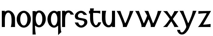 Snidane Font LOWERCASE