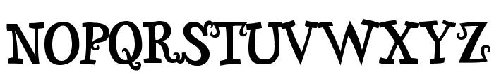 Snidely-Regular Font LOWERCASE