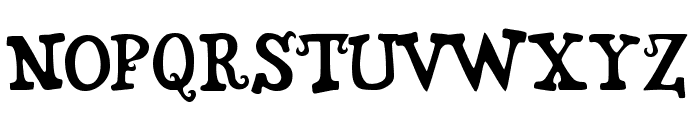 Snidely Font LOWERCASE