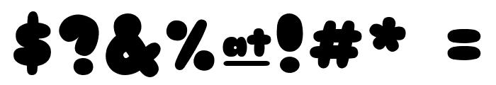 Sniglet ExtraBold Font OTHER CHARS