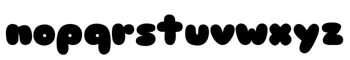 Sniglet ExtraBold Font LOWERCASE