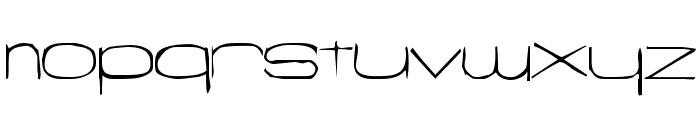Snigset Font LOWERCASE