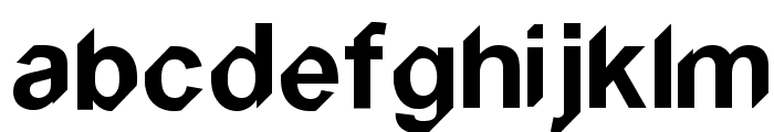 Snipped Font LOWERCASE