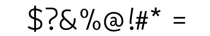 Snippet Font OTHER CHARS