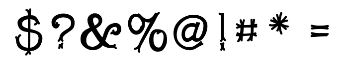 Snobhandscript Font OTHER CHARS