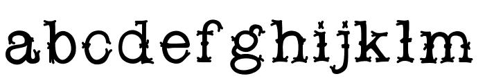 Snobhandscript Font LOWERCASE