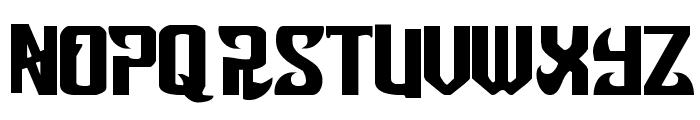 Snobjury Font UPPERCASE