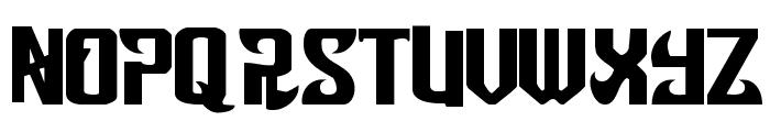 Snobjury Font LOWERCASE