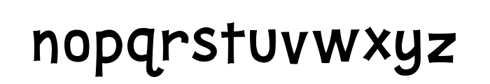 Snoopy Font LOWERCASE