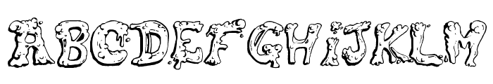 Snot Font LOWERCASE