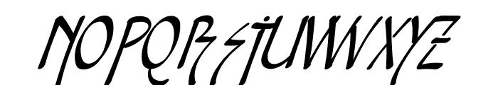 Snotmaster V Italic Font UPPERCASE