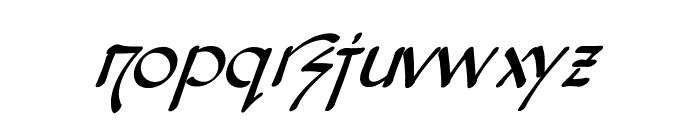 Snotmaster V Italic Font LOWERCASE
