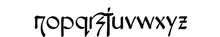 Snotmaster V Font LOWERCASE