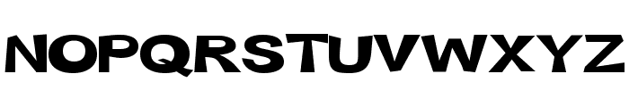 Snott 2000      Bold Font UPPERCASE