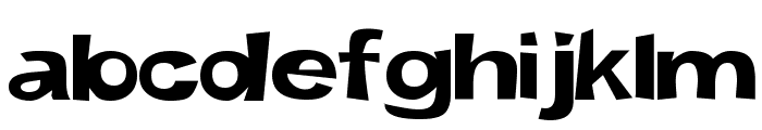 Snott 2000      Bold Font LOWERCASE