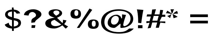 Snott SemiBold Font OTHER CHARS