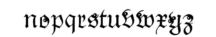 Snoutlike Font LOWERCASE