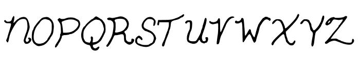 SnowWhite Font UPPERCASE