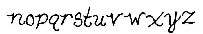SnowWhite Font LOWERCASE