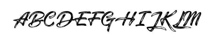 Snowboarding Font UPPERCASE